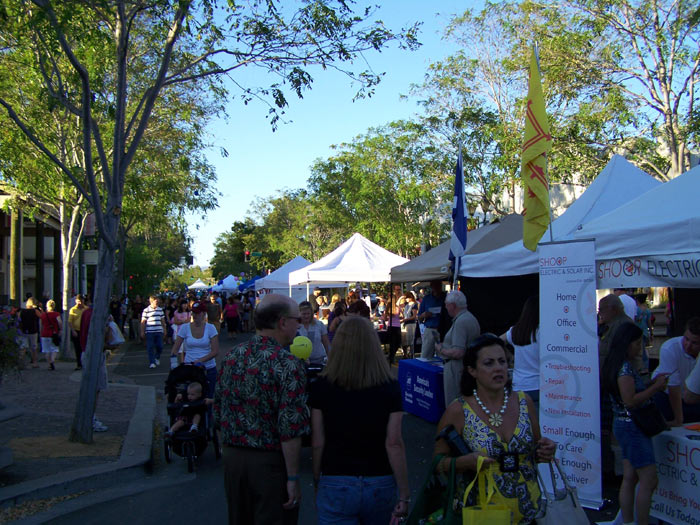 Last First Wednesday Street Party