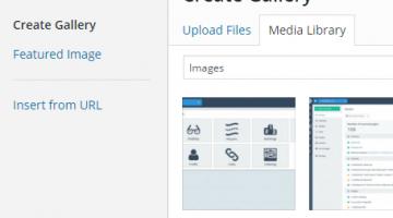 Making WordPress Gallery Navigation Links nofollow