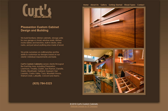 Pleasanton Custom Cabinetry