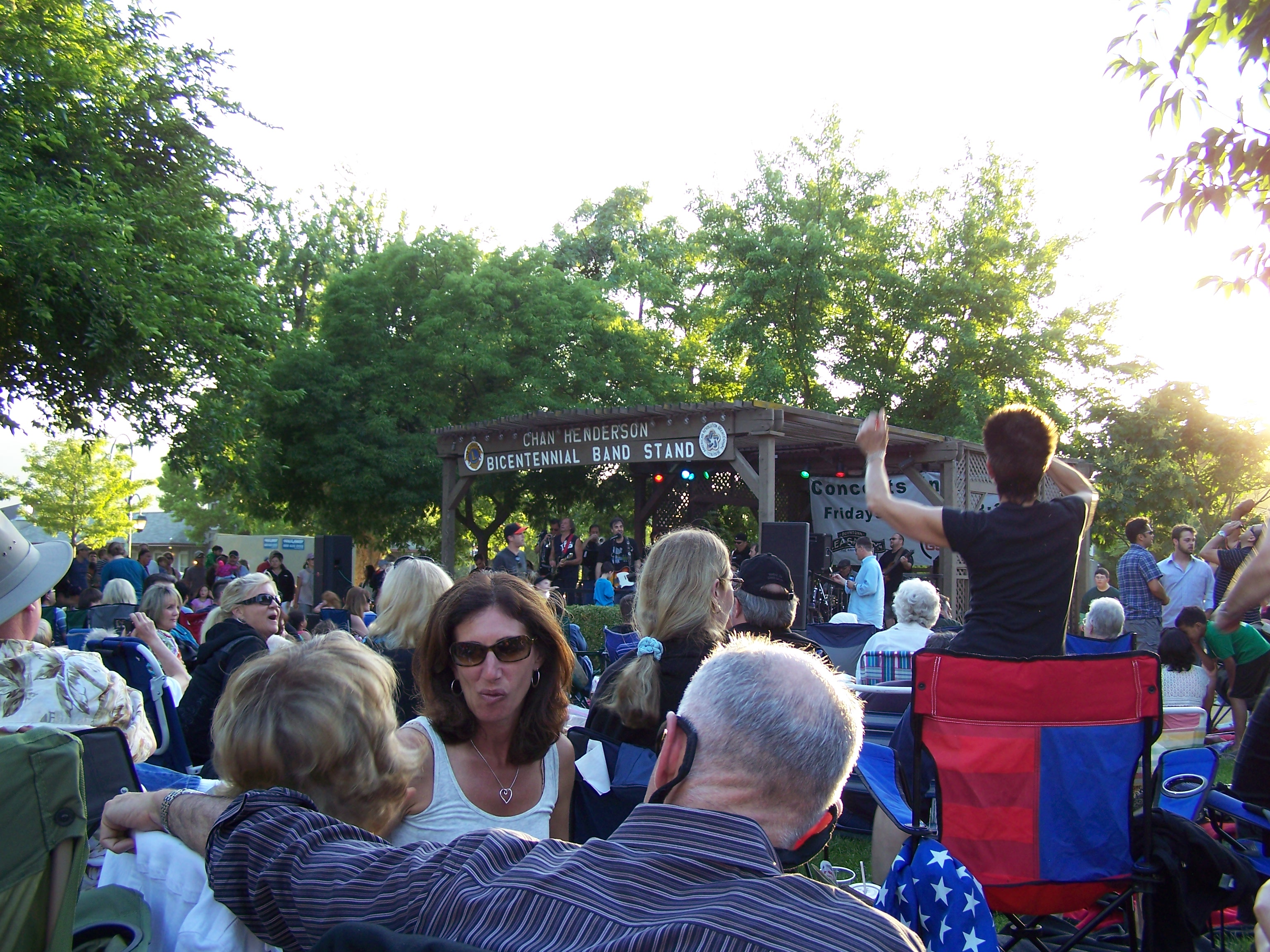 Pleasanton Free Concerts 2014 -Concert in the Park