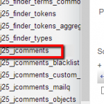 Problem Importing Comments from !JoomlaComment to JComment in Joomla 3