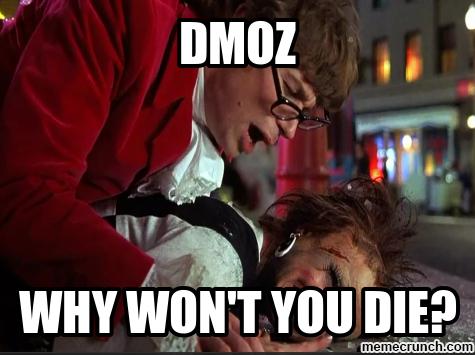 DMOZ – Why Won't You Die?